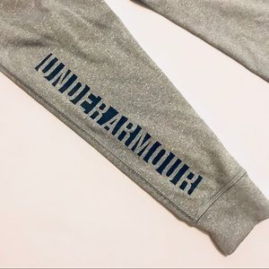Under Armour Bottoms - Under Armour Grey Girls Joggers